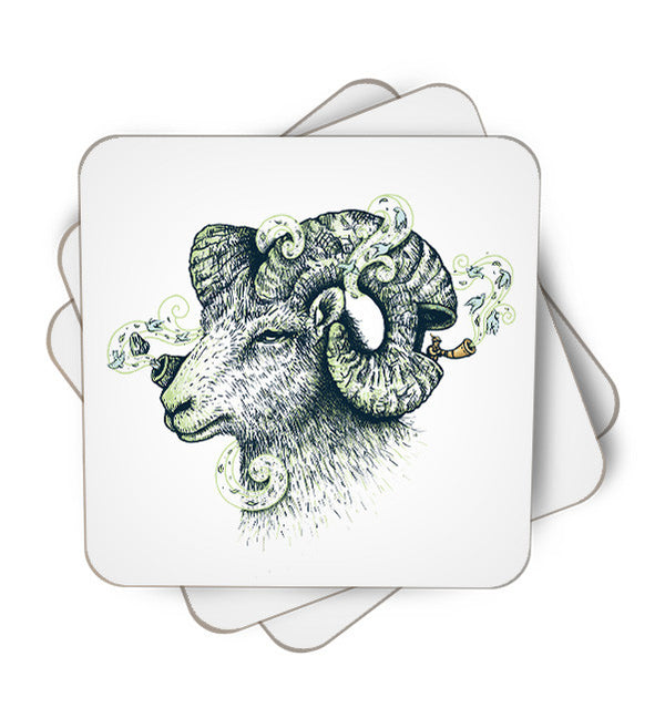 Big Horn Single Piece, Coasters - ultykhopdi - Design By Enkel Dika, ultykhopdi.com