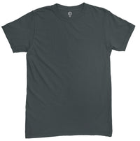 Solid Steel Grey Half Sleeve T-shirt