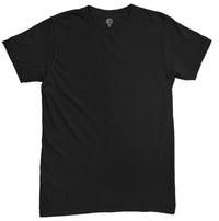 Solid Black Half Sleeve T-shirt