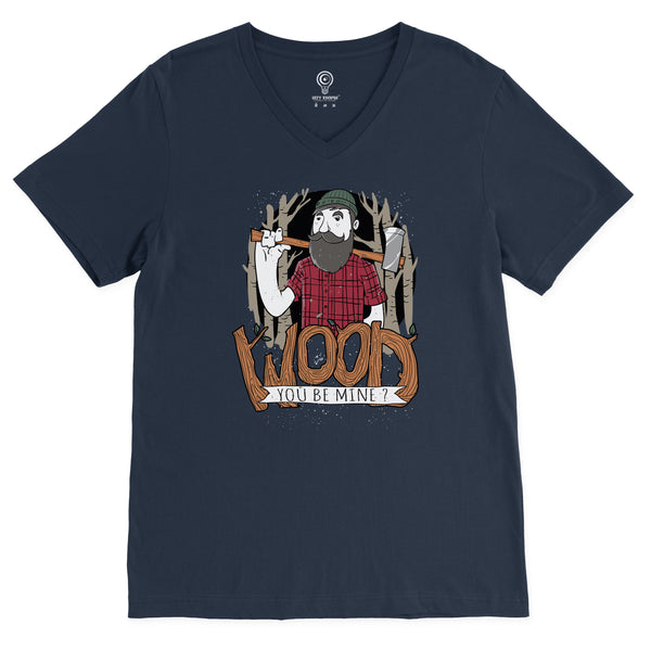 Wood You Be Mine V-Neck