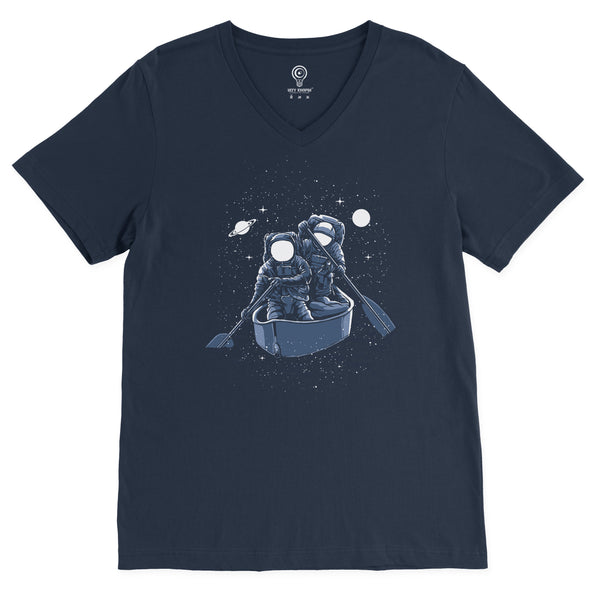 Across The Galaxy V-Neck