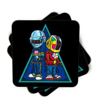 Daft Punk Kids Single Piece, Coasters - ultykhopdi - Design By Alienbiker23, ultykhopdi.com