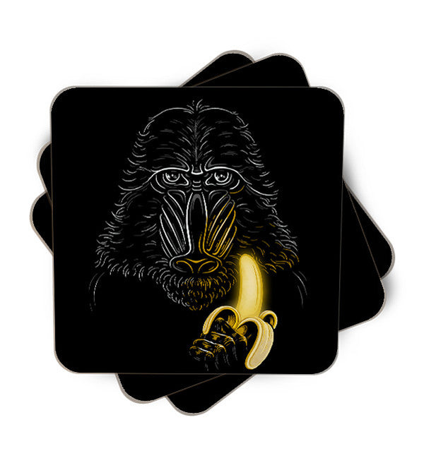 Darth Mandrill Single Piece, Coasters - ultykhopdi - Design By Enkel Dika, ultykhopdi.com