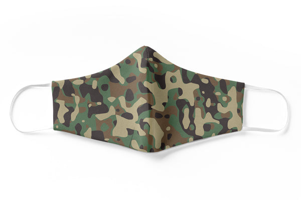Camo 3 Face Mask (3 Layer)