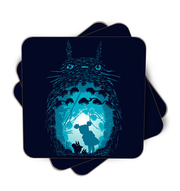 Forest Spirits Single Piece, Coasters - ultykhopdi - Design By Ddjvigo, ultykhopdi.com