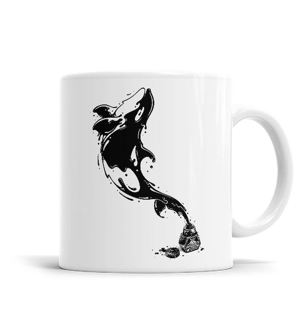 Great Leap 11 OZ Ceramic Mug, Mugs - ultykhopdi - Design By Enkel Dika, ultykhopdi.com