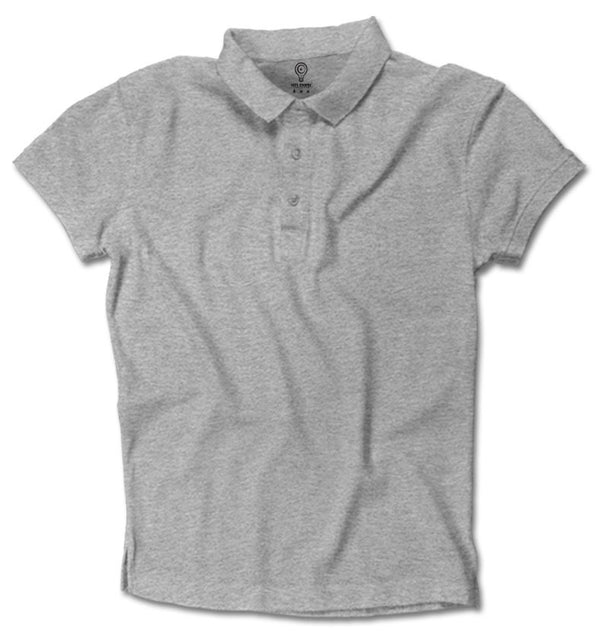 Grey Basic Polo Guys / Grey / Small, polo - ultykhopdi, ultykhopdi.com