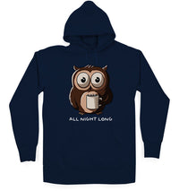 All Night Long Unisex / Navy Blue / Small, Hoodies - Ultykhopdi - Design By Ledude, ultykhopdi.com - 1