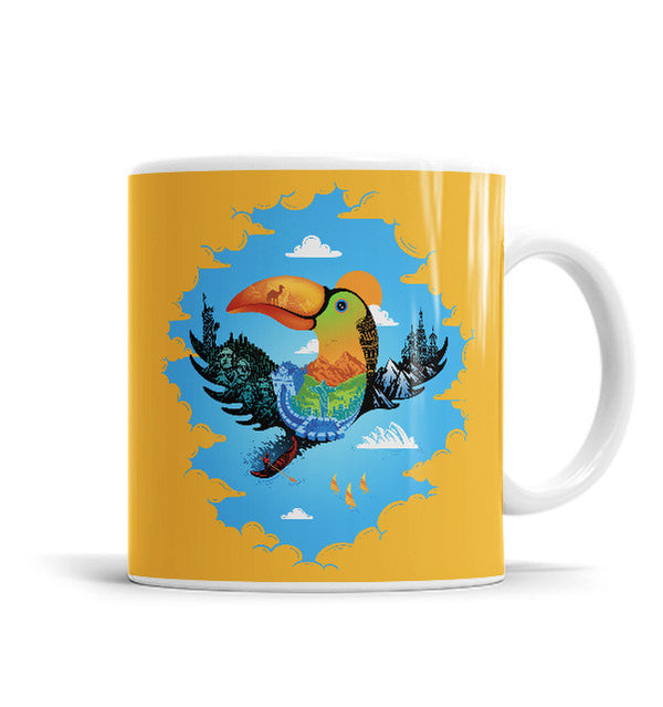 Journey 11 OZ Ceramic Mug, Mugs - ultykhopdi - Design By Enkel Dika, ultykhopdi.com
