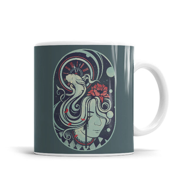 Lost In Time 11 OZ Ceramic Mug, Mugs - ultykhopdi - Design By Enkel Dika, ultykhopdi.com
