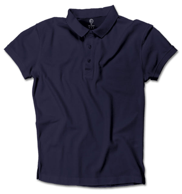 Navy Blue Basic Polo Guys / Navy Blue / Small, polo - ultykhopdi, ultykhopdi.com