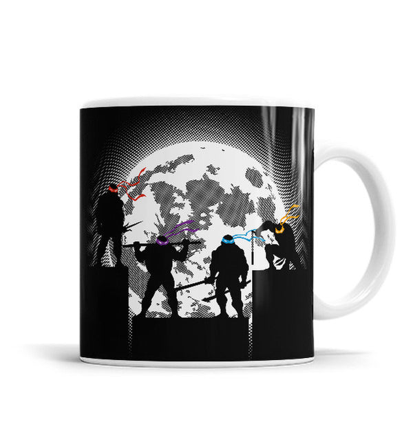 Night Shadows 11 OZ Ceramic Mug, Mugs - ultykhopdi - Design By DDjvigo, ultykhopdi.com