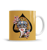 Poker Face 11 OZ Ceramic Mug, Mugs - ultykhopdi - Design By Enkel Dika, ultykhopdi.com