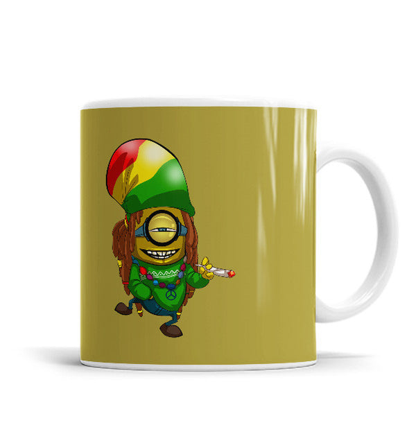 Rasta Man 11 OZ Ceramic Mug, Mugs - ultykhopdi - Design By Collyde Prime, ultykhopdi.com