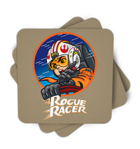 Rouge Racer Single Piece, Coasters - ultykhopdi - Design By Alienbiker23, ultykhopdi.com