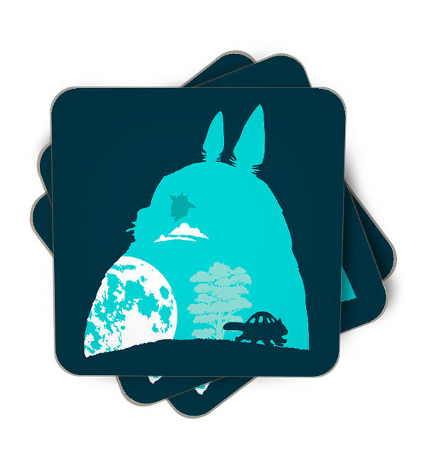 Silhouettes Single Piece, Coasters - ultykhopdi - Design By Daniac, ultykhopdi.com