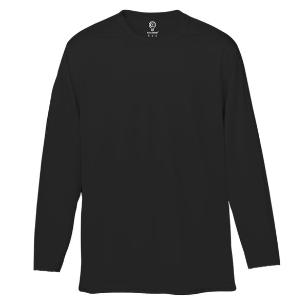 Solid Black Full Sleeve T-shirt