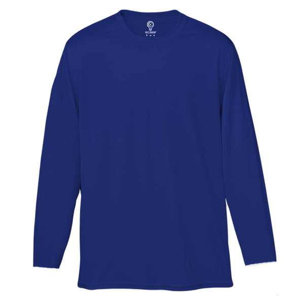 Solid Royal Blue Full Sleeve T-shirt
