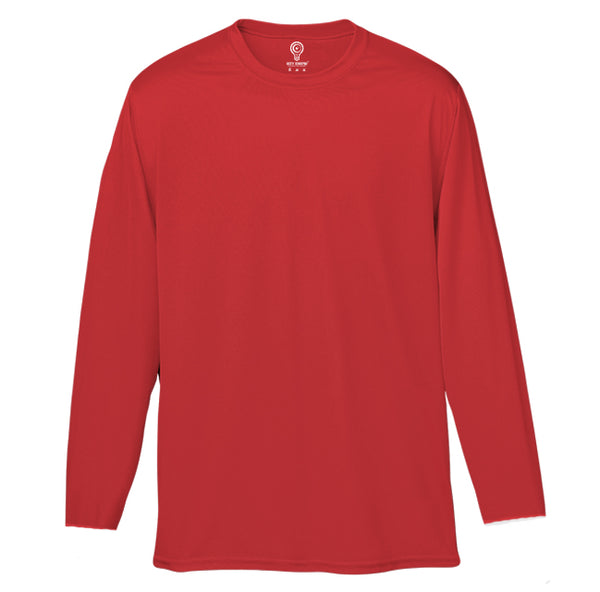 Solid Red Full Sleeve T-shirt