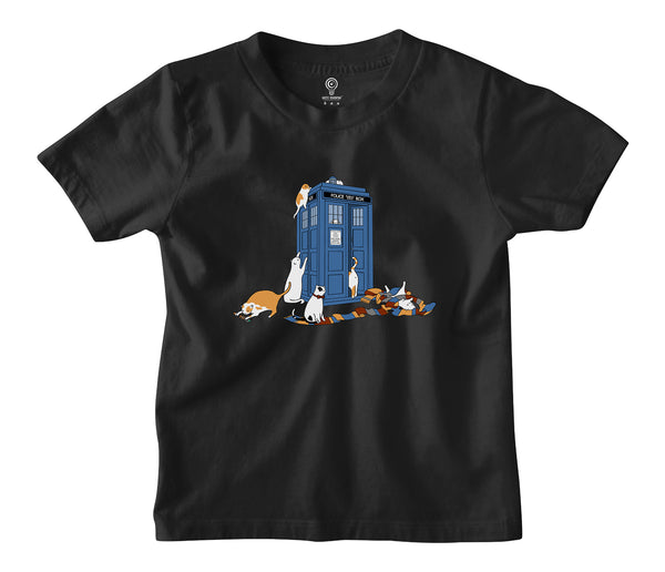 Time Travelers Kids T-shirt