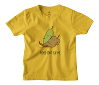 Don't Leaf Me Kids T-shirt