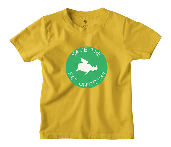 Fat Unicorns Kids Tshirt