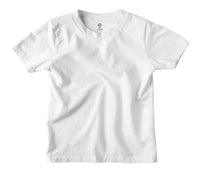 Solid White Kids T-shirt