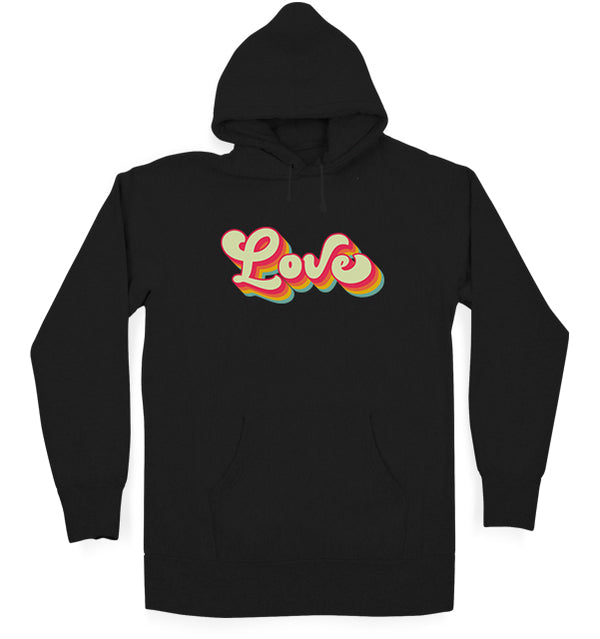 Colours Of Love Hoodie