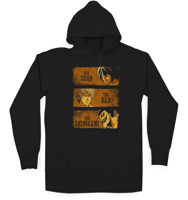 The Good, The Bad and The Shinigami Hoodie