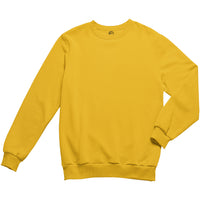 Solid Yellow Sweatshirt
