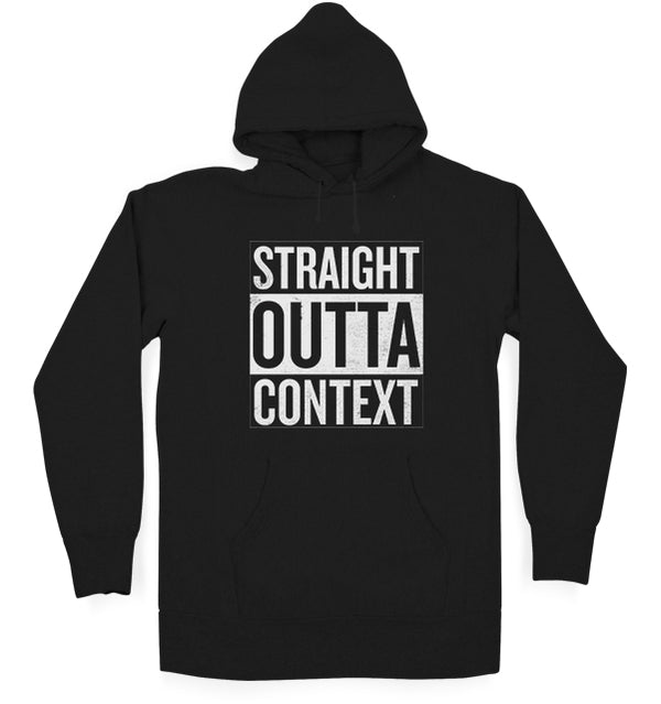 Straight Outta Context Kids Hoodie