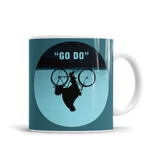 Go Do 11 OZ Ceramic Mug, Mugs - ultykhopdi - Design By Enkel Dika, ultykhopdi.com