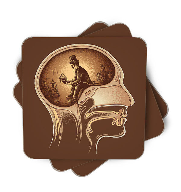 Mind Reader Single Piece, Coasters - ultykhopdi - Design By Enkel Dika, ultykhopdi.com