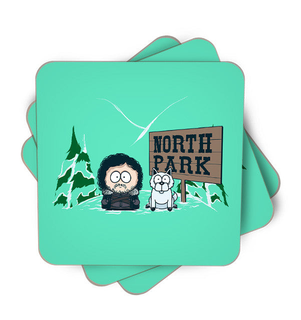 North Park Single Piece, Coasters - ultykhopdi - Design By Donnie, ultykhopdi.com