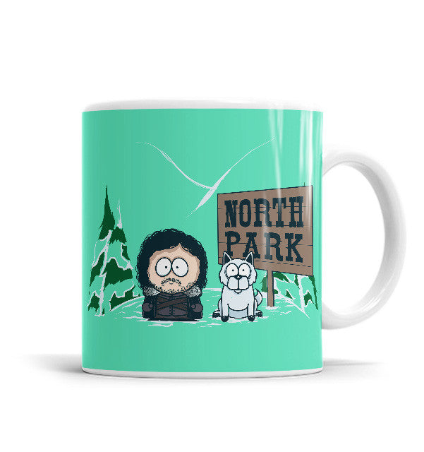 North Park 11 OZ Ceramic Mug, Mugs - ultykhopdi - Design By Donnie, ultykhopdi.com