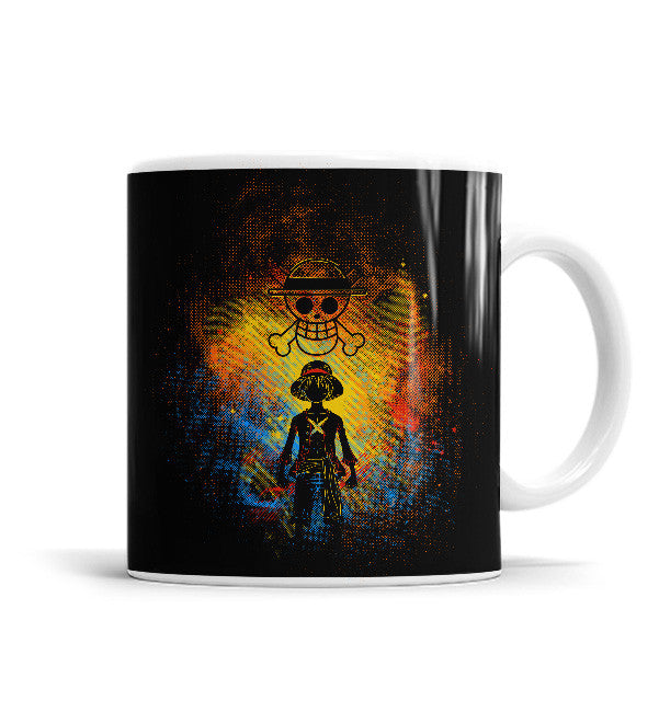 Pirate 11 OZ Ceramic Mug, Mugs - ultykhopdi - Design By Donnie, ultykhopdi.com