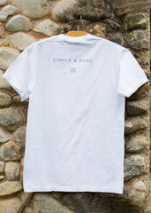 IF:Gathering Back White Logo + Simple and Pure Comfort Colors Tee
