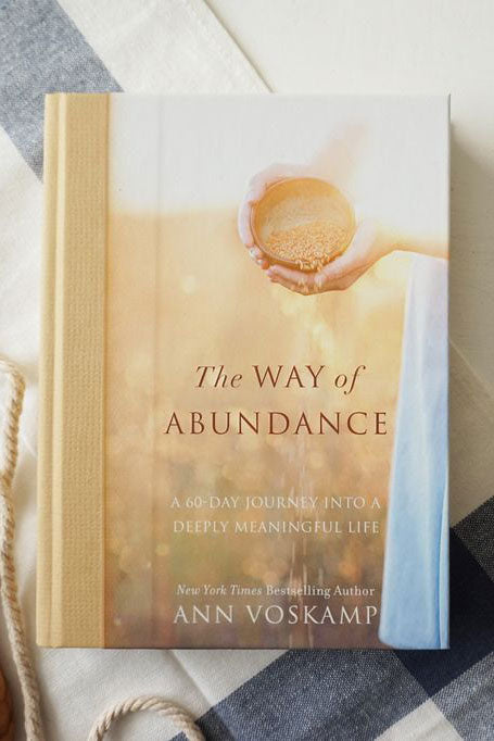 The Way of Abundance - Ann Voskamp