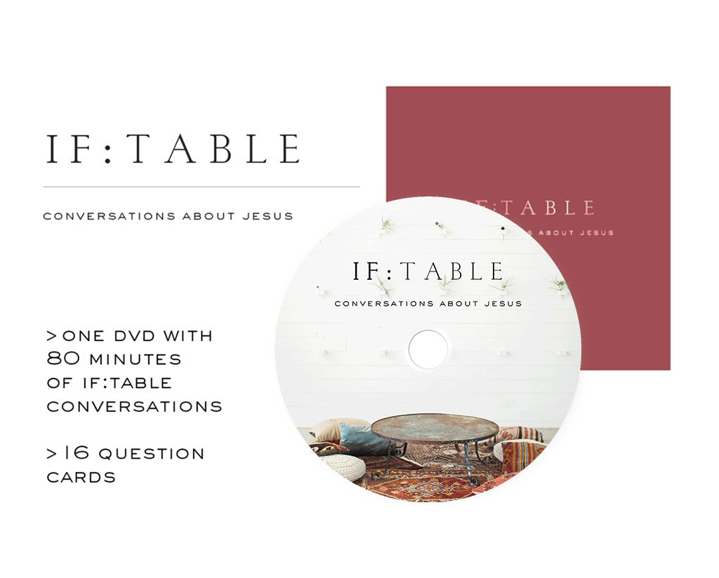 IF:Table DVD + Conversation Cards Set 80 Minutes of Conversation