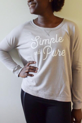Simple & Pure Pullover