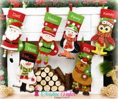 2018 Character Stockings