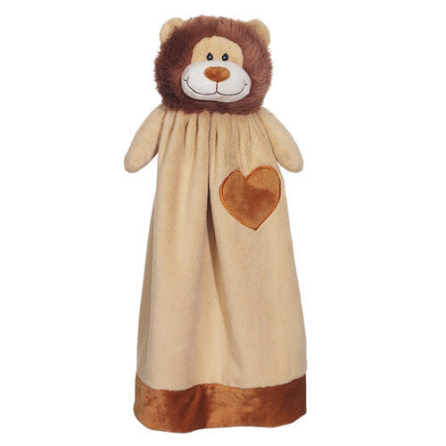 "20"" Personalized Cuddle Blanket - Lion - Christine Taylor Designs"