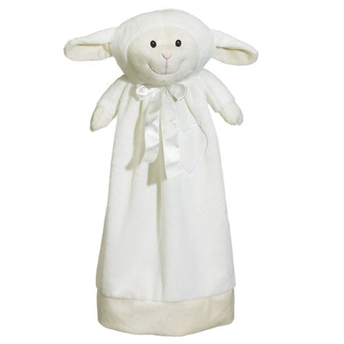 "20"" Personalized Cuddle Blanket - Lamb"