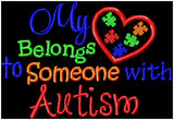 Autism Awareness Zipper Bags - Design your own - Christine Taylor Designs