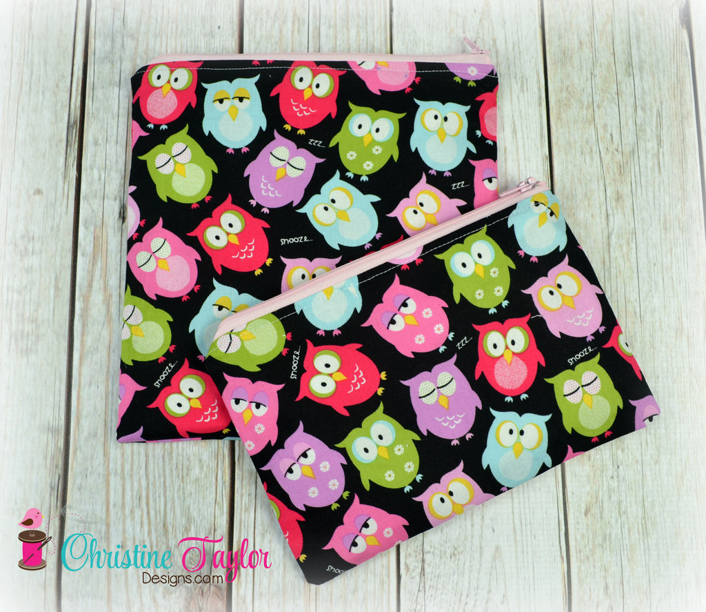 Ready Made SNACK SIZE SET - Owls