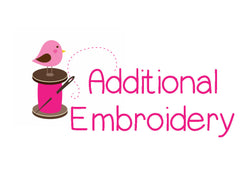 Additional Embroidery for Stuffies - Christine Taylor Designs