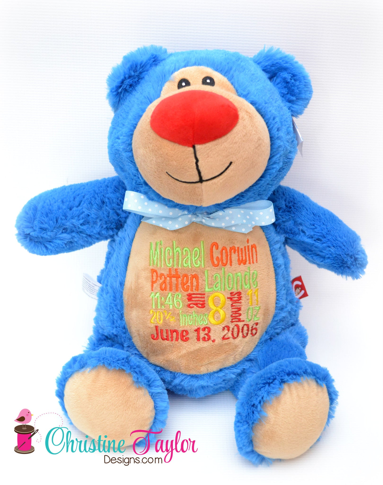 Turquoise Bear - Christine Taylor Designs