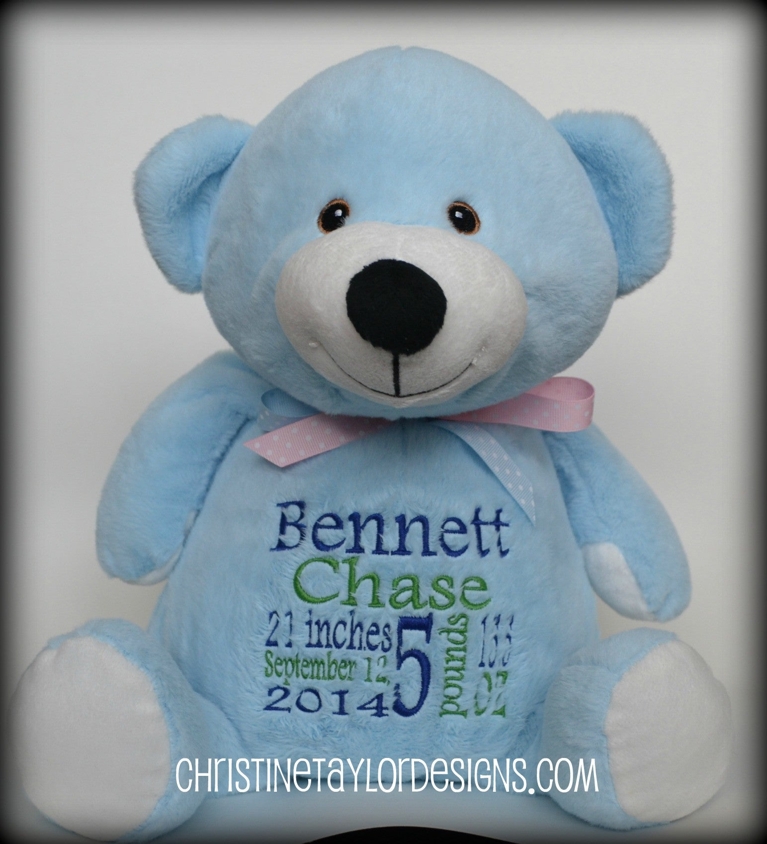 Blue Bear - Christine Taylor Designs