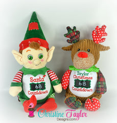 COUNTDOWN Holiday Stuffie - Create your own