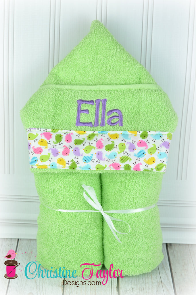 Hooded Towel - Lasting Color Towels - clearance